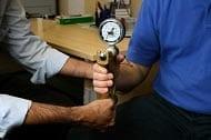 Handgrip strength test